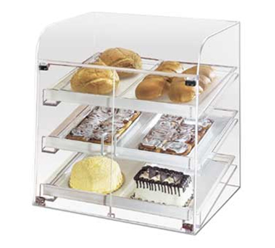 Cal-Mil 288 Countertop Bakery Display Case w/ 2-Front Doors & 6-Trays, Clear