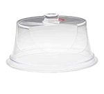 Cal-Mil 302-15 15-in Turn N Serve Colonial Cover, Clear Acrylic