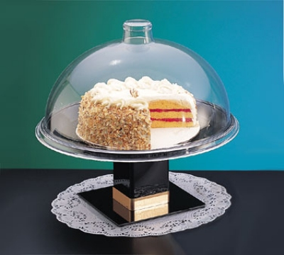 Cal-Mil 311-18 18-in Dome Type Gourmet Cover, Clear Acrylic
