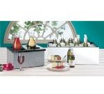Cal-Mil 368-12-16 Insulated Ice Pan Housing w/ Food Pan, 12 x 20-in, Granite Gray