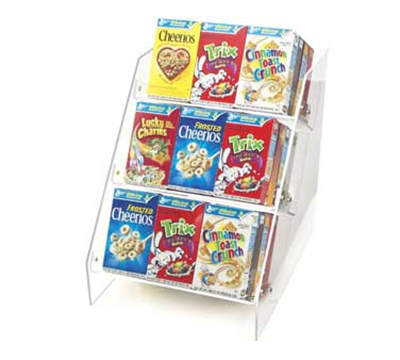 Cal-Mil 370 3-Tier Countertop Cereal Organizer, Holds 36-Individual Boxes