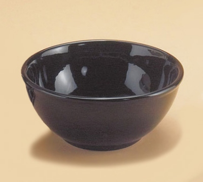 Cal-Mil 418-10-13 10-in Bowl For Bella Arte Stand 908-8, Black