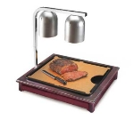 Cal-Mil 810-52 Carving Station w/ 18 x 22-in Cutting Board & Drip Tray, Dark Wood