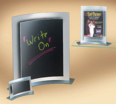 Cal-Mil 828 Forma Frame Card Holder, 8.5 x 11-in High
