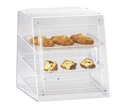 Cal-Mil 961-S Countertop Display Case w/ Front Door & 3-Tray, 15.5 x 15 x 16-in H