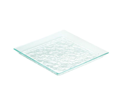 "Cal-Mil GL252-43 11"" Square Glacier Platter - Acrylic, Green"
