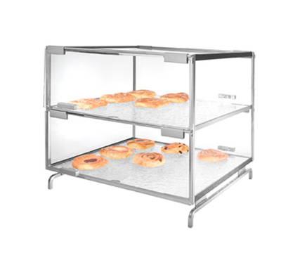 Cal-Mil PC200-39 2-Tier Gourmet Pastry Case - Clea