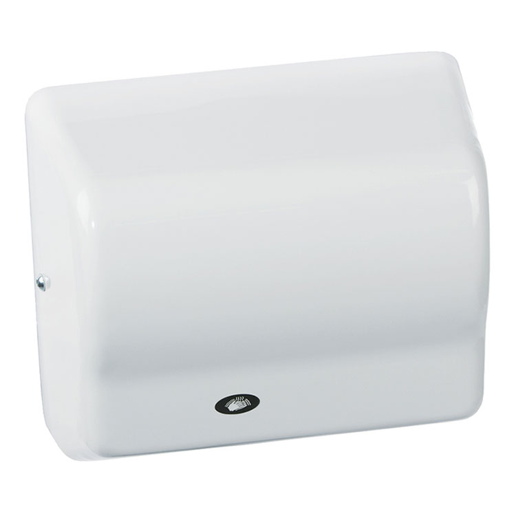 American Dryer GX1-M Hand Dryer - Automatic, White Epoxy, 120V