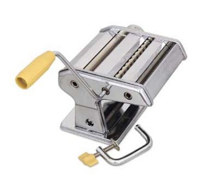 Browne Foodservice 12151 Table Mounted Pasta Machine, Noodle Cutter, Stainless Steel