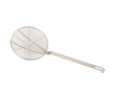 Browne Foodservice 1309TSW 9-in Round Spiral Mesh Skimmer w/ Long Hooked Handle