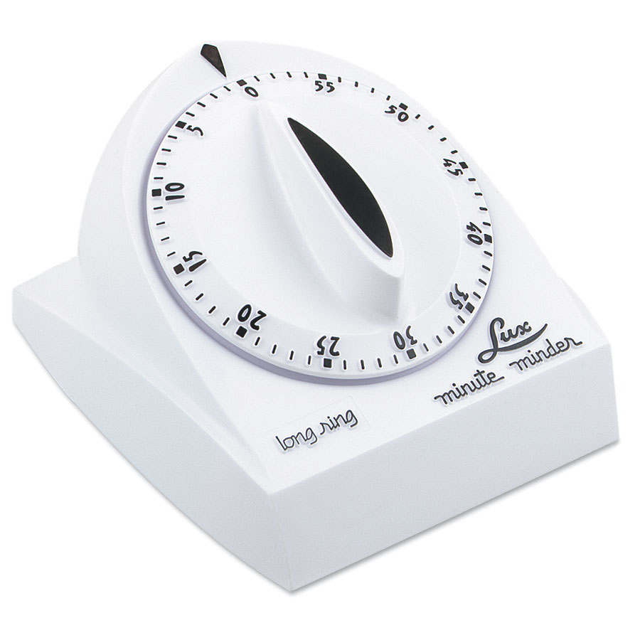 Browne Foodservice 1929 Minute Timer, 2-3/4 in Face, Range 1 min - 1 h