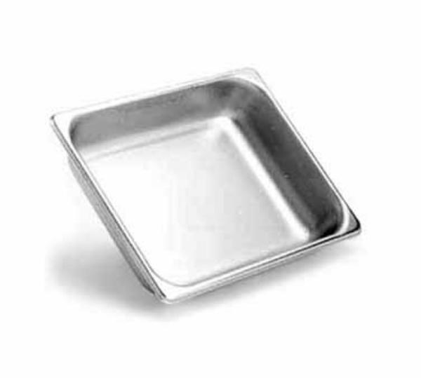 Browne Halco 22241L Stack-A-Way Steam Table Pan 1/2 Size Long 1-1/2 in Deep 22 Gauge Restaurant Supply