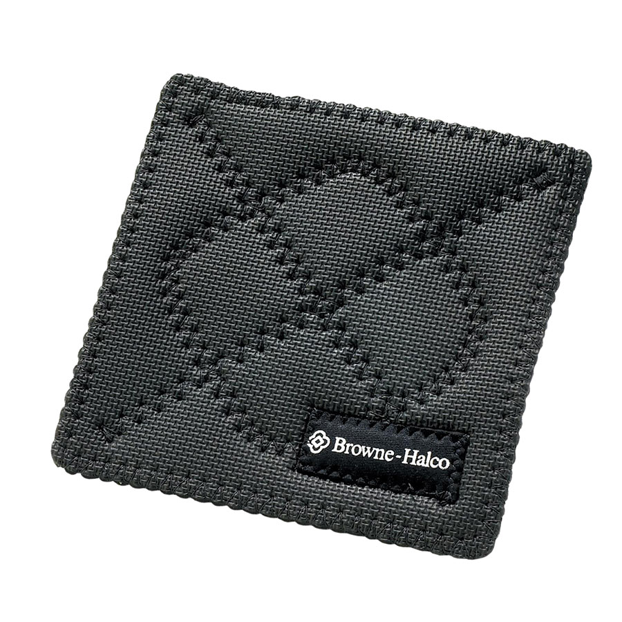 Browne Foodservice 5436102 Duncan KitchenGrips Hot Pad, 7 x 7 in, Black