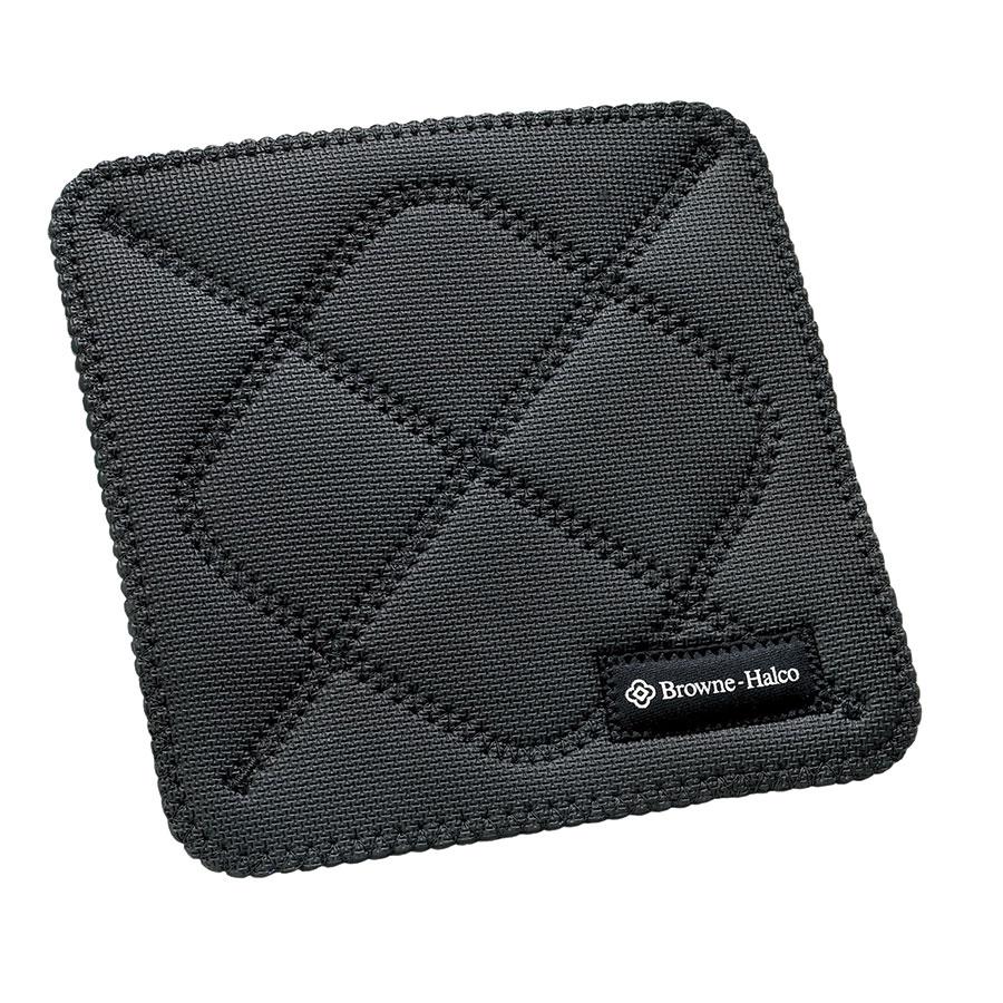 Browne Foodservice 5436502 Duncan KitchenGrips Hot Pad, 10 x 10 in, Black
