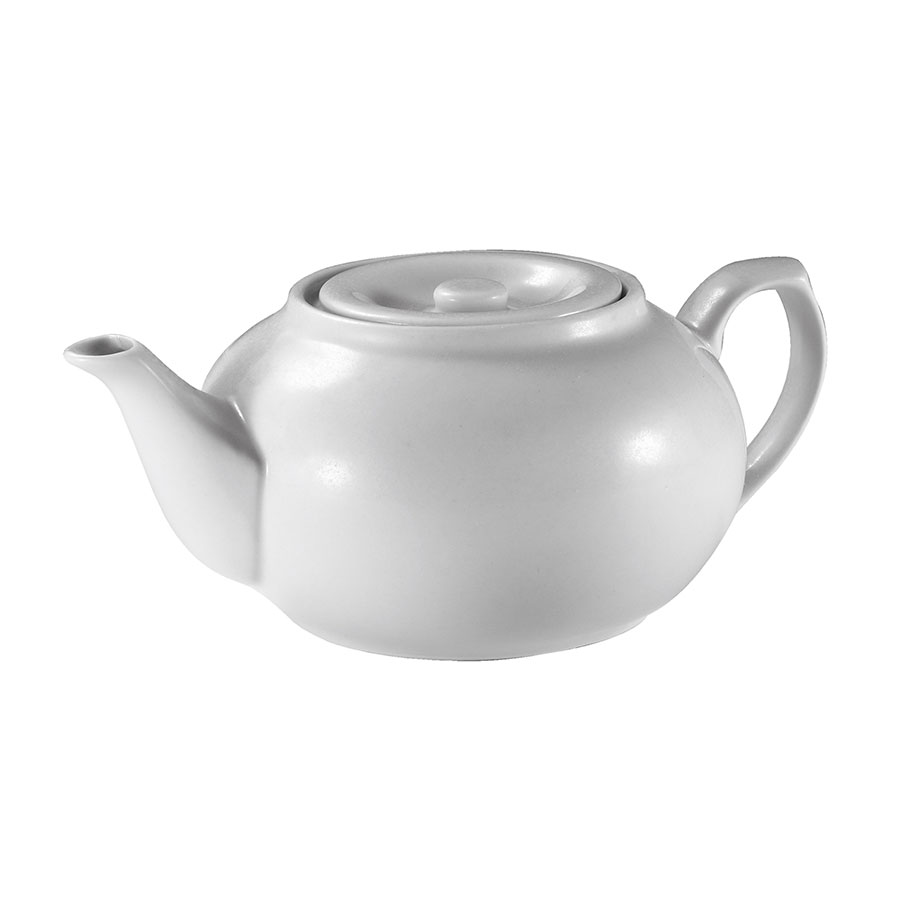 Browne Foodservice 563933 16-oz Teapot - Porcelain, White