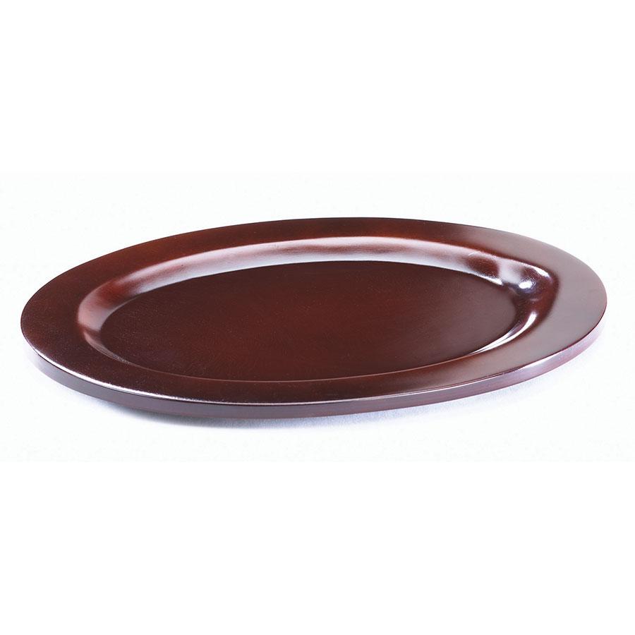 Browne Foodservice 573706 Wood Underliner For 10 in Oval Skillet