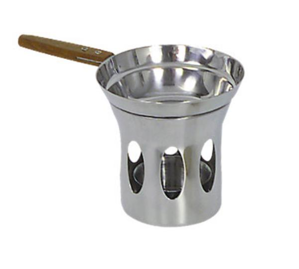 Browne Foodservice 575725 Butter Warmer, with Stand, Stainless Steel