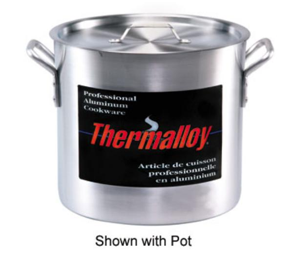 Browne Foodservice 5815140 Thermalloy Aluminum Cover for 140 qt Stock Pot, NSF