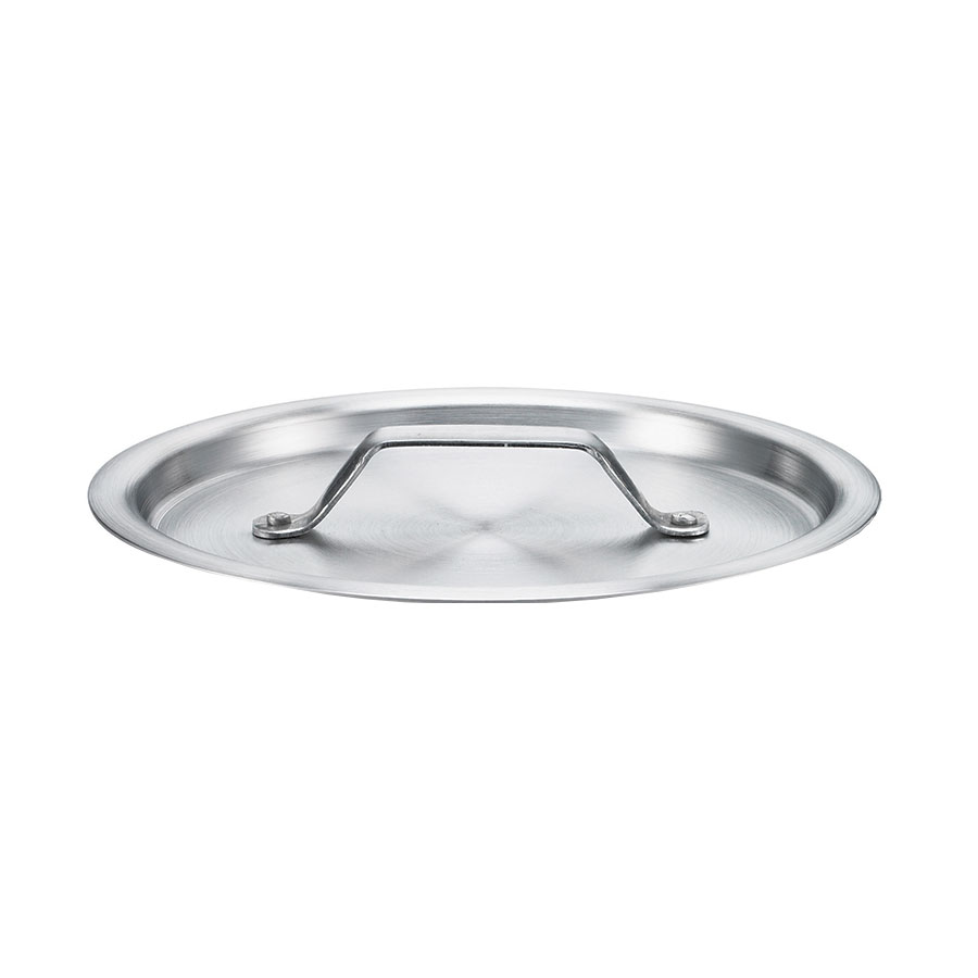 Browne Foodservice 5815901 Thermalloy Sauce Pan Cover, Fits 5813901, Flat, Aluminum