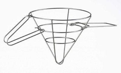 Browne Foodservice 678 Grease Filter Cone Rack, 18 x 9 in, Wire Rack