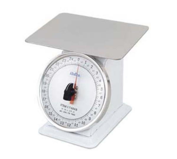 Browne Foodservice 74840 Portion Scale, Top Loading, Counter Model, Fixed 6 in Dial