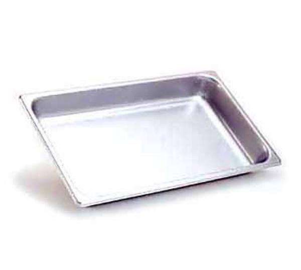 Browne Foodservice 88002 Full-Sized Steam Pan, Stainless