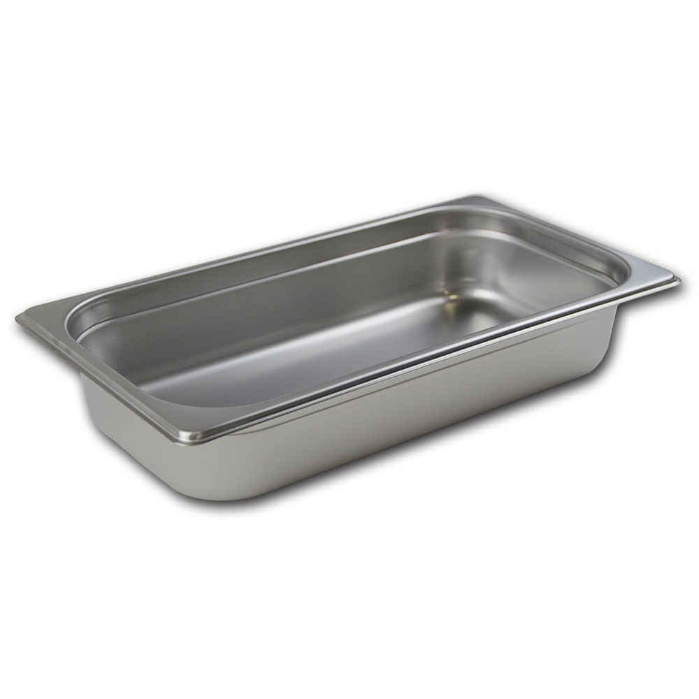 Browne Foodservice 88132 Third-Size Steam Pan, Stainless