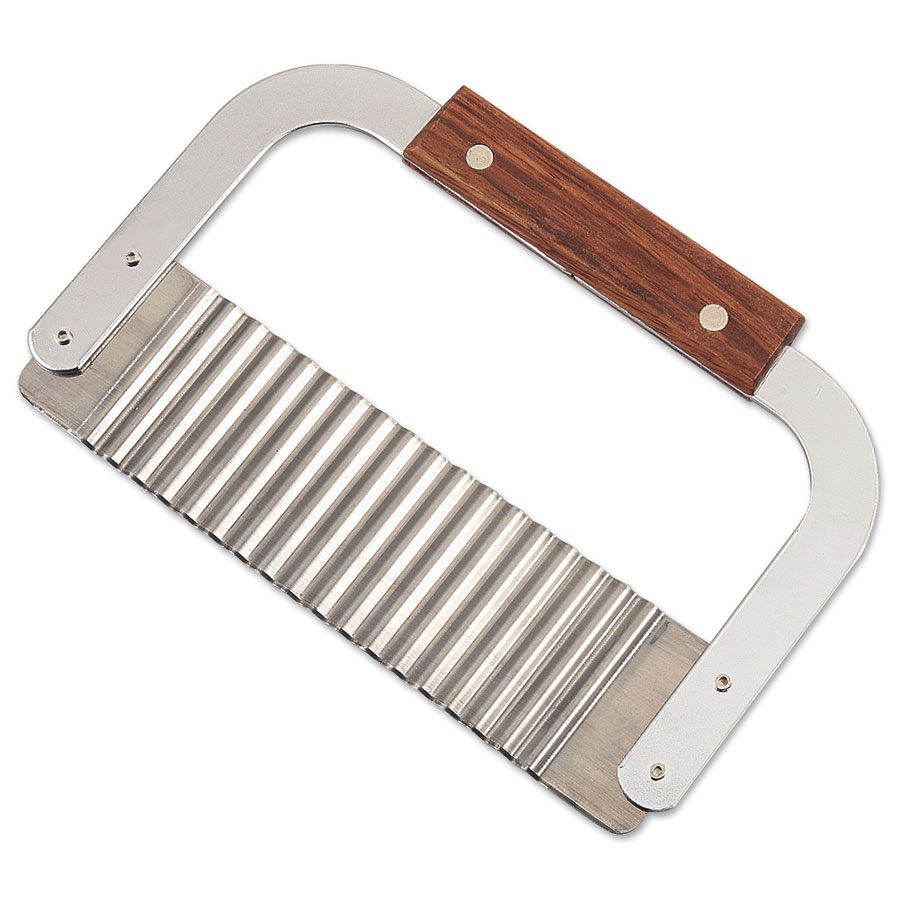 Browne Foodservice 923P Garnish/Serrator, 7 x 2 in, Stainless Steel Corrugated Blade