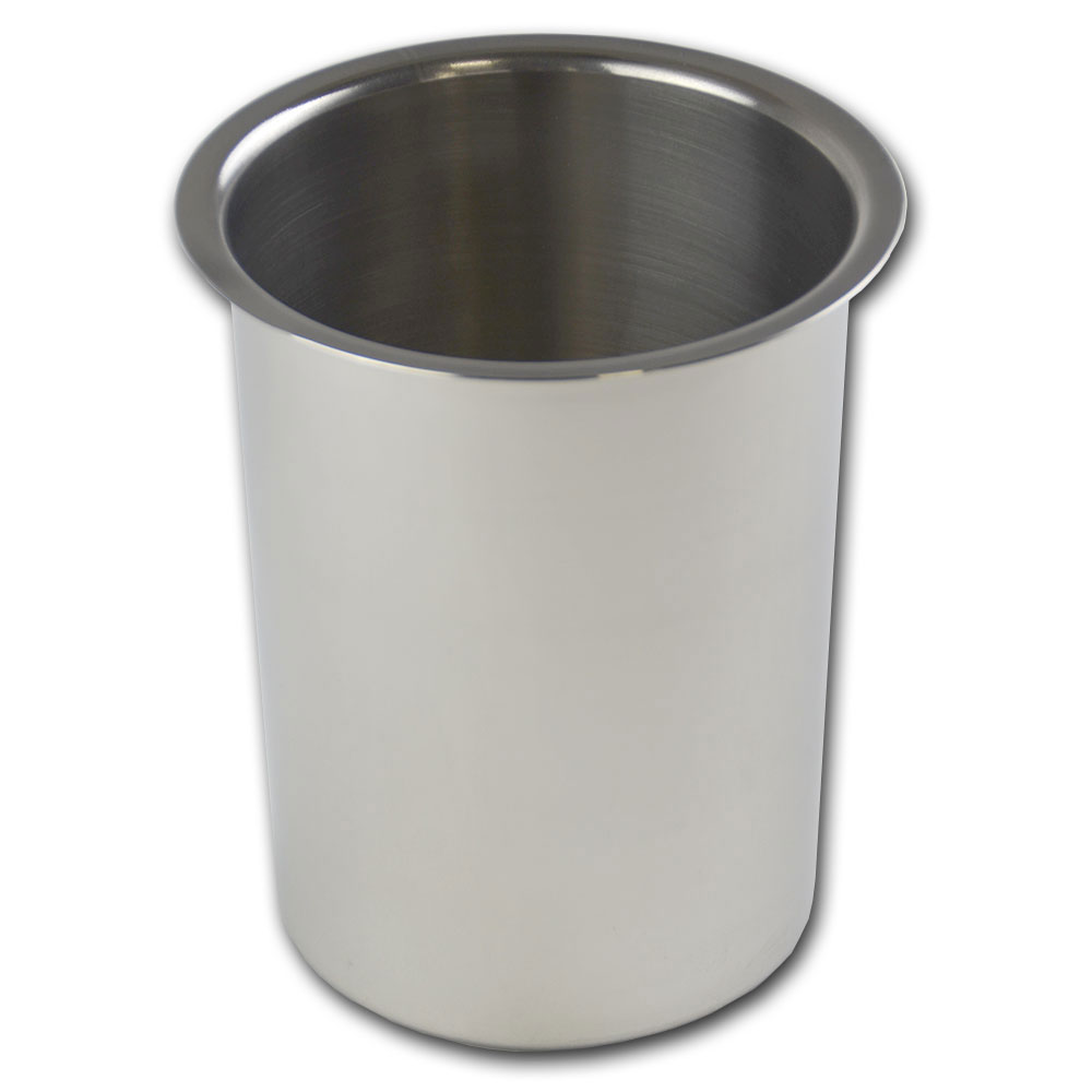 Browne Foodservice BMP1 Bain Marie Pot, 1-1/4 qt Capacity, Fits 4-1/8 in Opening