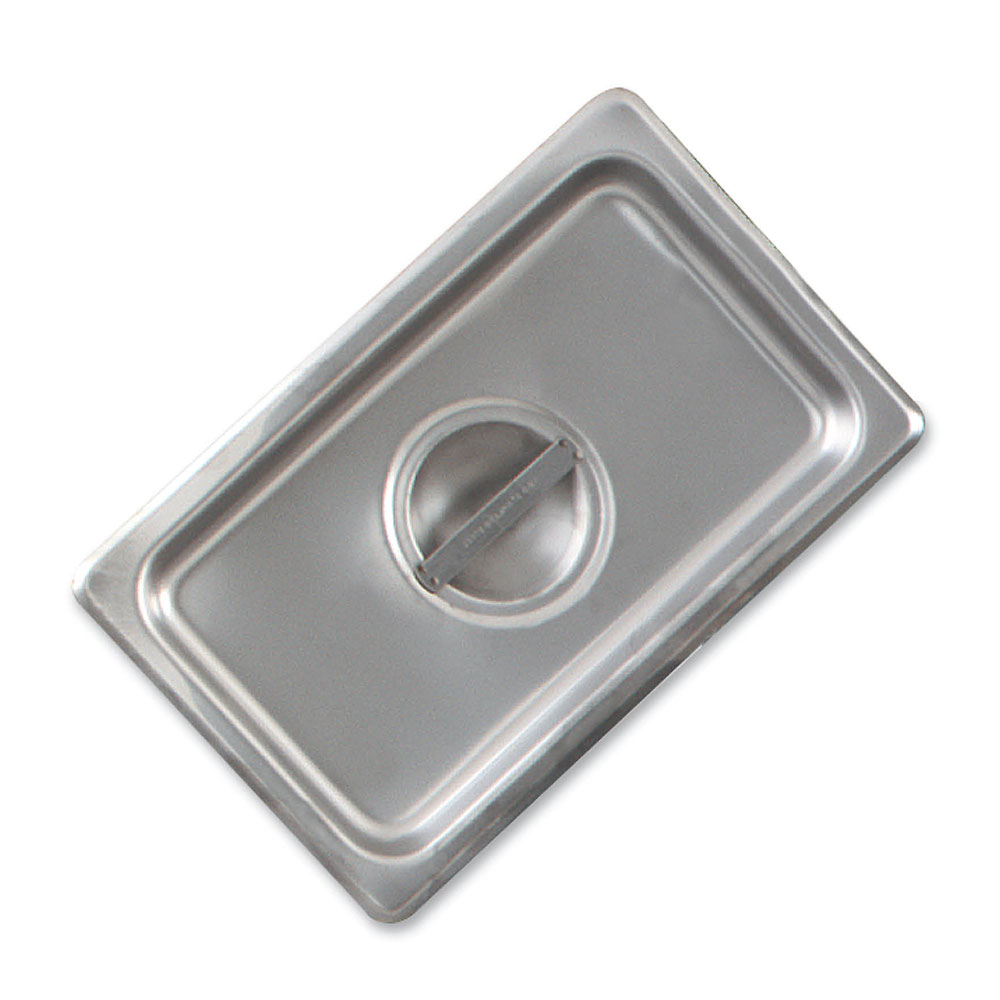 Browne Foodservice CP8162 Steam Pan Cover, 1/6 Size, Flat, with Handle