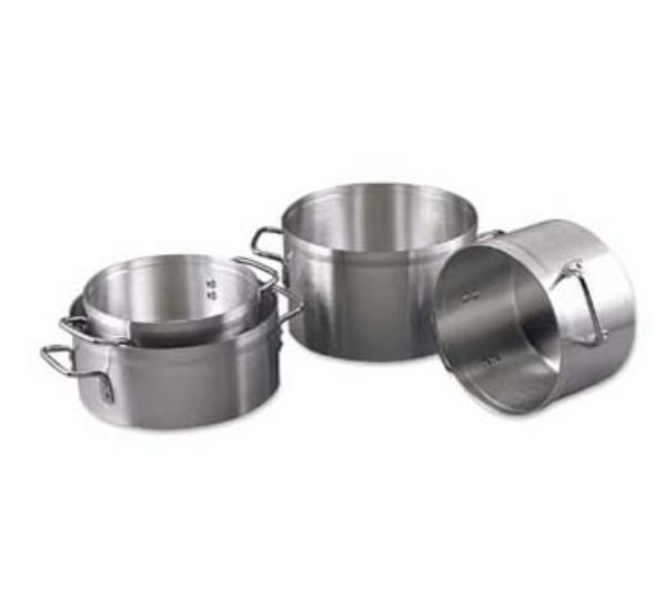 Browne Halco EW06 Eagleware Aluminum Sauce Pot 6 qt 10 x 4-1/2 in depth 3.0 mm Restaurant Supply