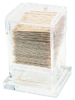Browne Foodservice ALTD5PL Toothpick Dispenser 4 in H Plastic Roll Style
