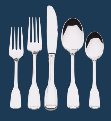 Browne-Halco 502211S Lafayette Dinner Knife Serrated Restaurant Supply