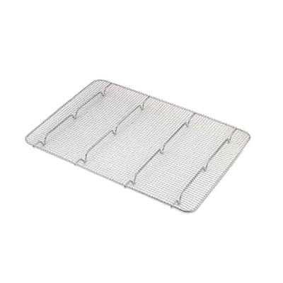 Browne Foodservice PG1826 Pan Grate, 16-1/2 x 24-1/2 in, Footed, Chrome Plated