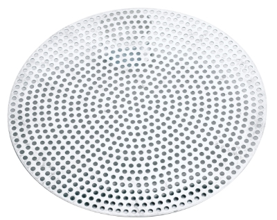 Browne Foodservice 57 30008 8 in Perforated Pizza Disk, Aluminum, Natural Finish