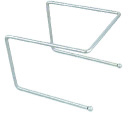 Browne Foodservice PS180 Chrome Plated Pizza Stand, 6-3/