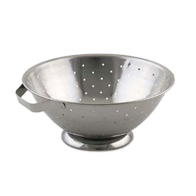 Browne-Halco R33 Colander 8 qt 13 in Footed Side Handles Restaurant Supply