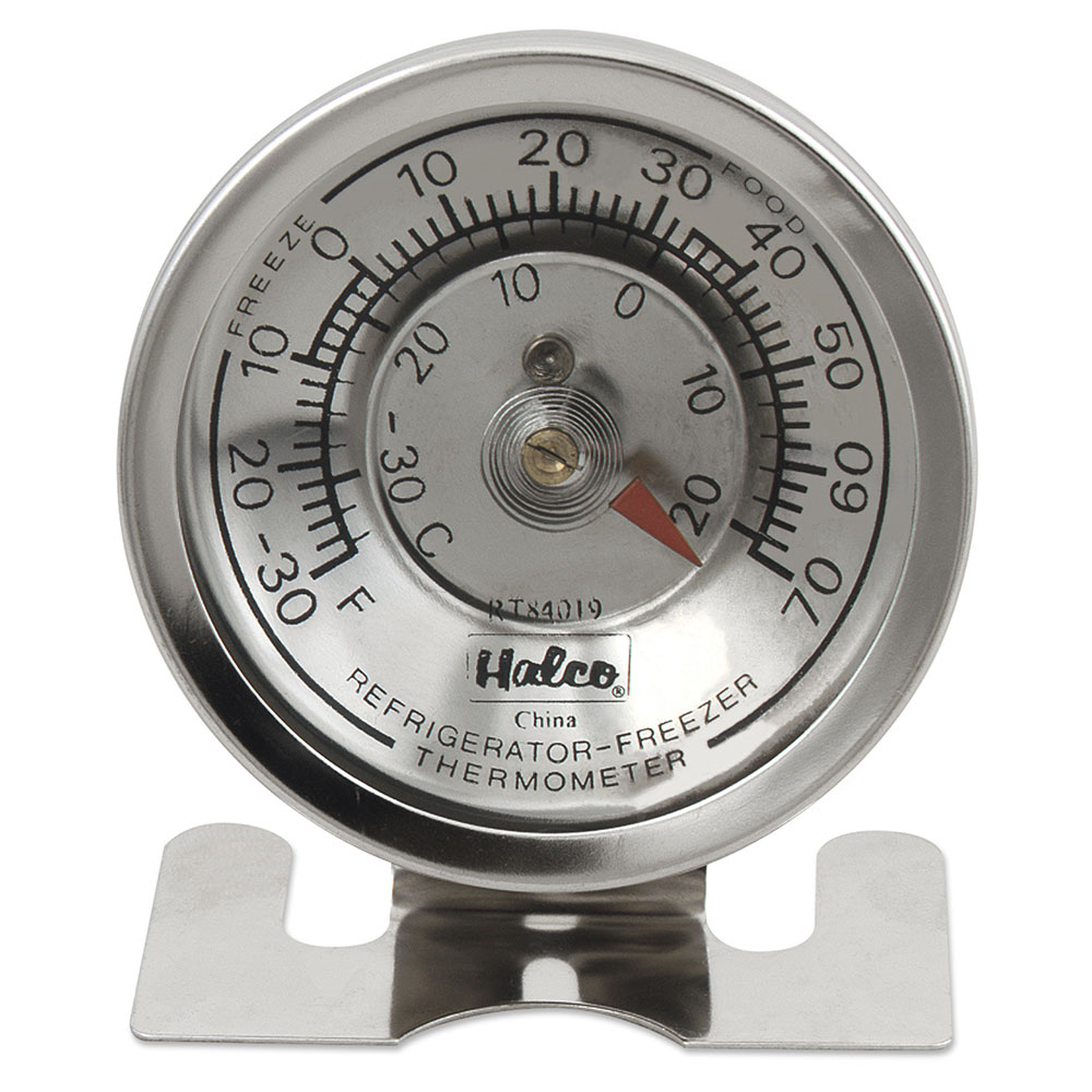 Browne Foodservice RT84019 Refrigerator / Freezer Thermometer, -30 to 70 F