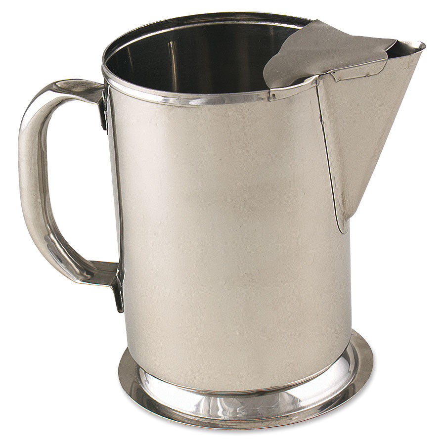 Browne Foodservice S980 Water Pitcher, w/ Ice Guard, 64 oz capacit