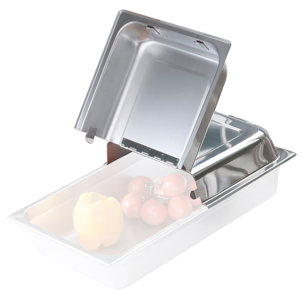 Browne Foodservice SH943HDC Steam Pan Cover, Full Size, Domed, Hinged