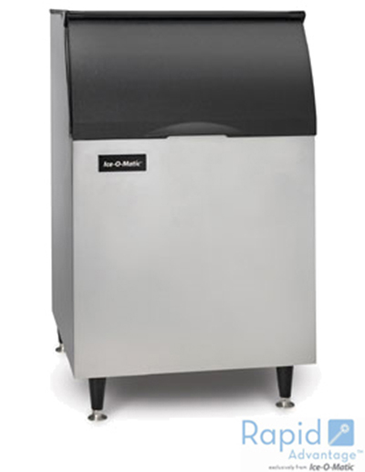 Ice-O-Matic B55PS Ice Bin for Top Mount Ice Maker - 510-lb Capacity