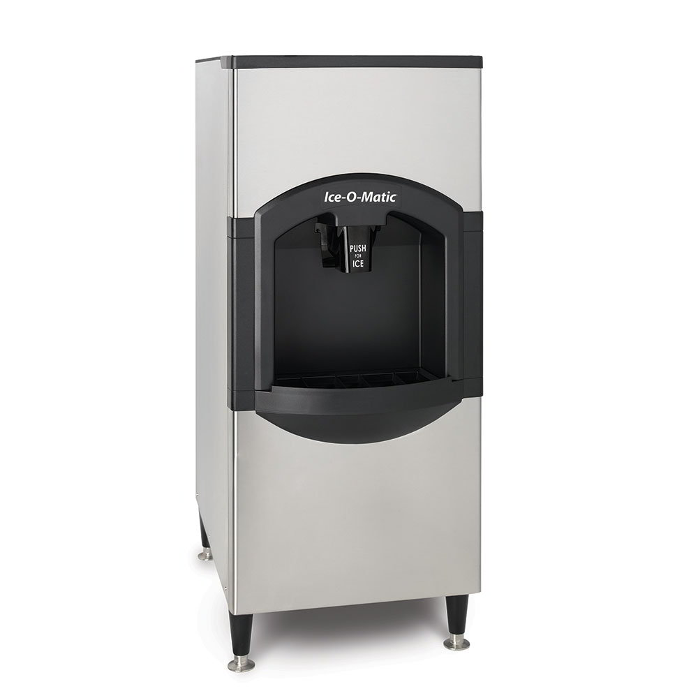 Ice-O-Matic CD40022 Floor Model Cube Ice Dispenser w/ 120-lb Storage - Bucket Fill, 115v