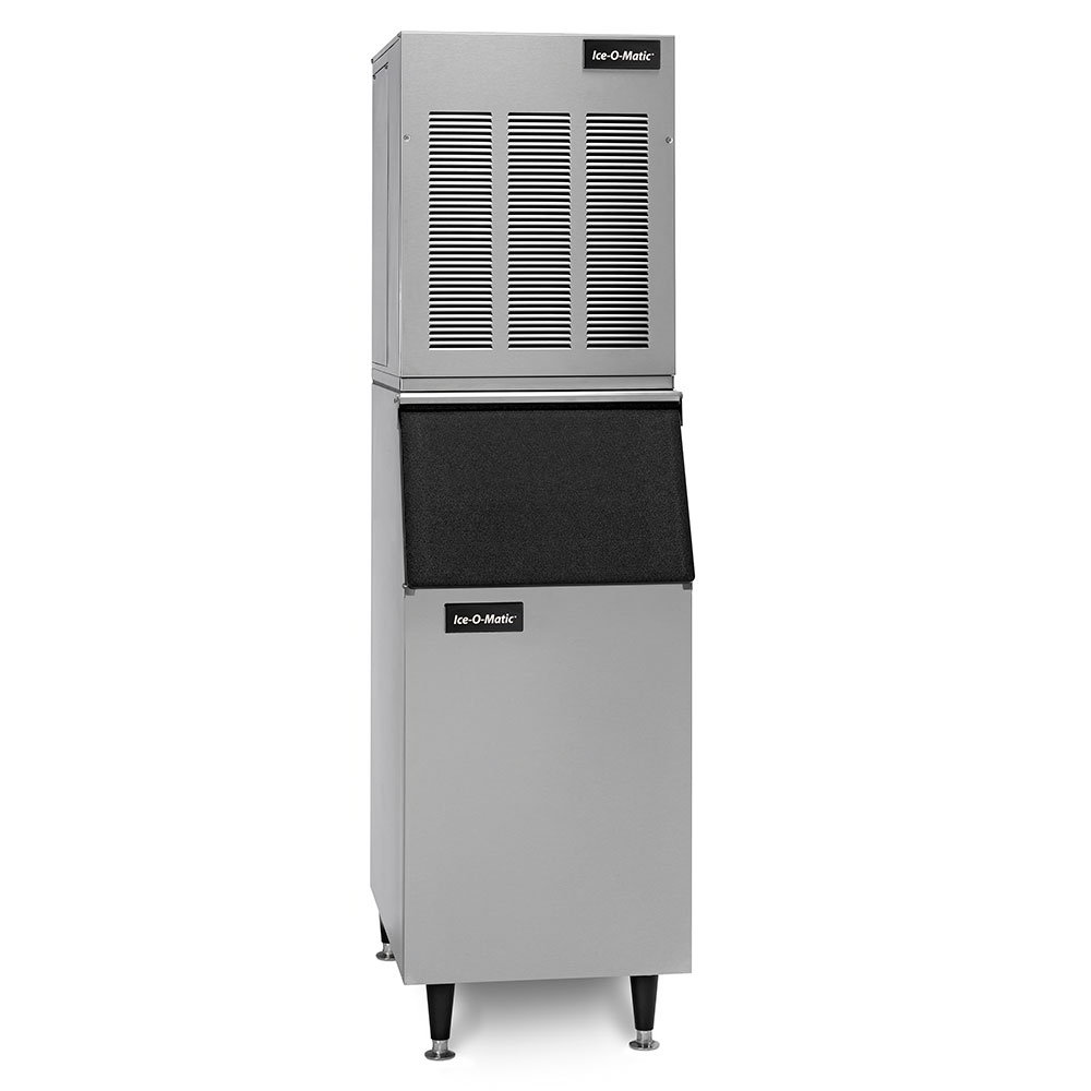 Ice-O-Matic GEM0650AB55PS Medium Volume Nugget Ice Maker w/ 510-lb Bin - Air Cooled, 115v