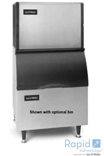 Ice-O-Matic ICE0250HA Half Cube Ice Maker - 336-lb/24-hr, Air-Cool 115v