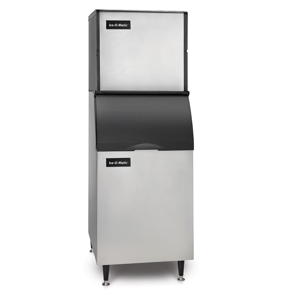 Ice-O-Matic ICE0320FAB42PS Ice Maker w/ 351-lb Bin, Full Cube, 334-lb/24-Hr, Air Cooled