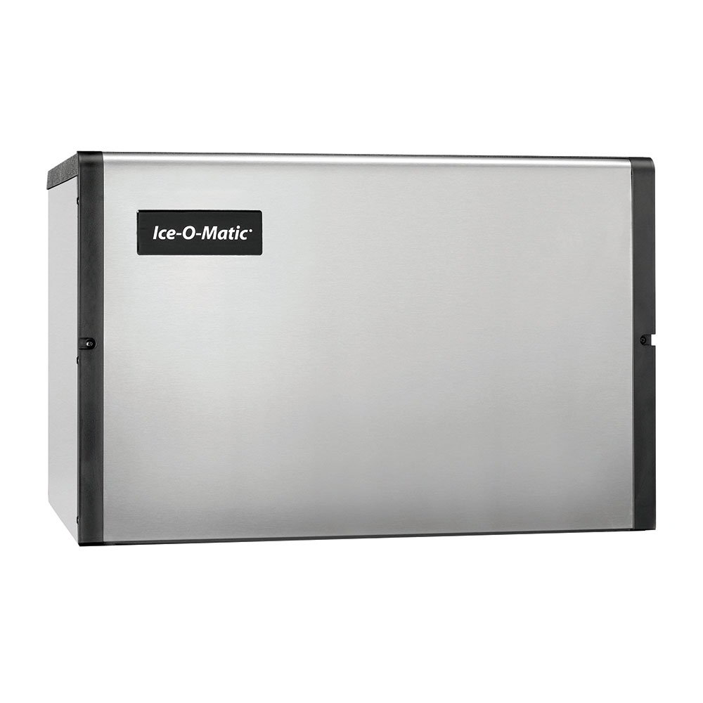 "Ice-O-Matic ICE0400FW 30.13"" Full Cube Ice Machine Head - 496-lb/24-hr, Water Cooled, 115v"