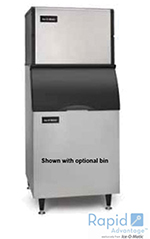 Ice-O-Matic ICE0400FA Cube Ice Maker - 505-lb/24-hr, Air-Cool 115v
