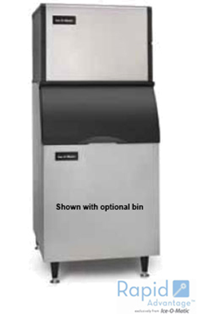 Ice-O-Matic ICE0500HA Half Cube Ice Maker - 565-lb/24-hr, Air-Cool 115v