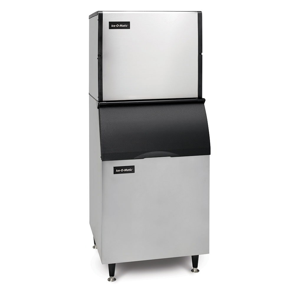 Ice-O-Matic ICE1006HB100KBT5 High Volume Cube Ice Maker w/ 854-lb Bin - Air Cooled, 208v/1ph