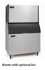 Ice-O-Matic ICE1406HR Half Cube Ice Maker - 1391-lb/24-hr, Remote-Cool 208-230v